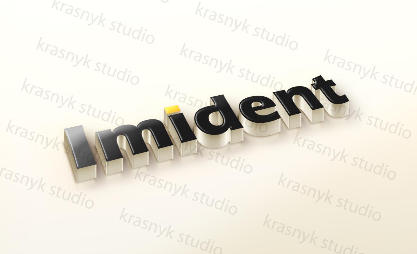 Логотип для стоматологічної клініки Imident