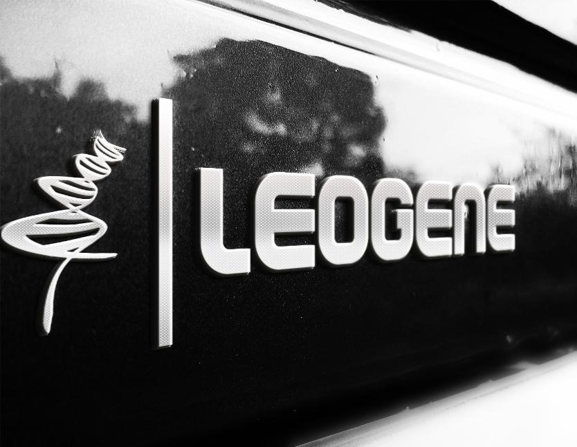 Логотип для компанії Leogene