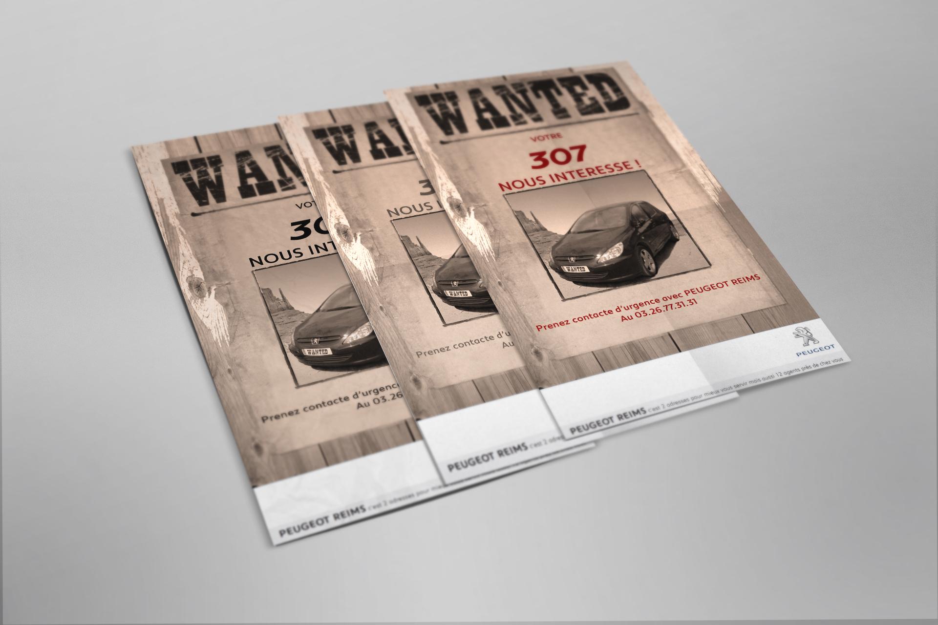 Рекламна кампанія для Peugeot
