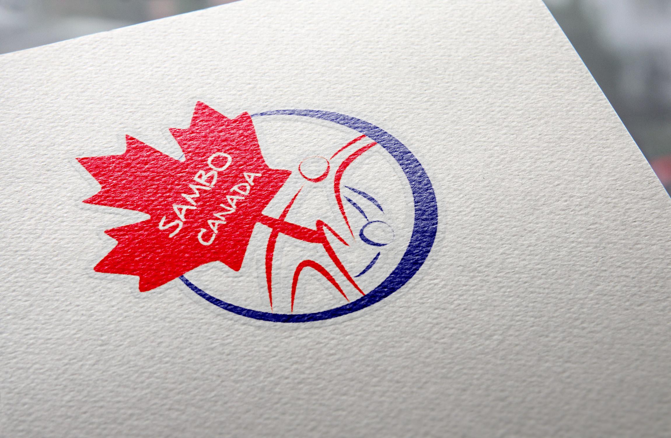 Логотип для національної федерації по самбо Канади