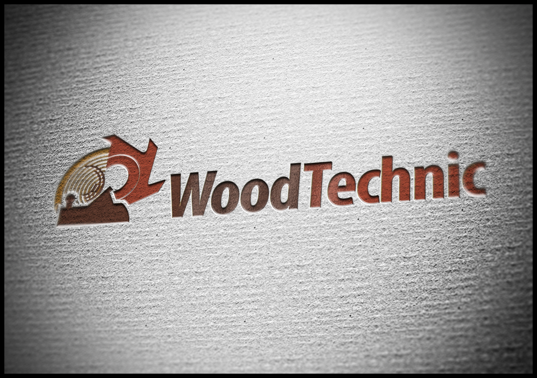 Логотип для компанії Woodtechnik