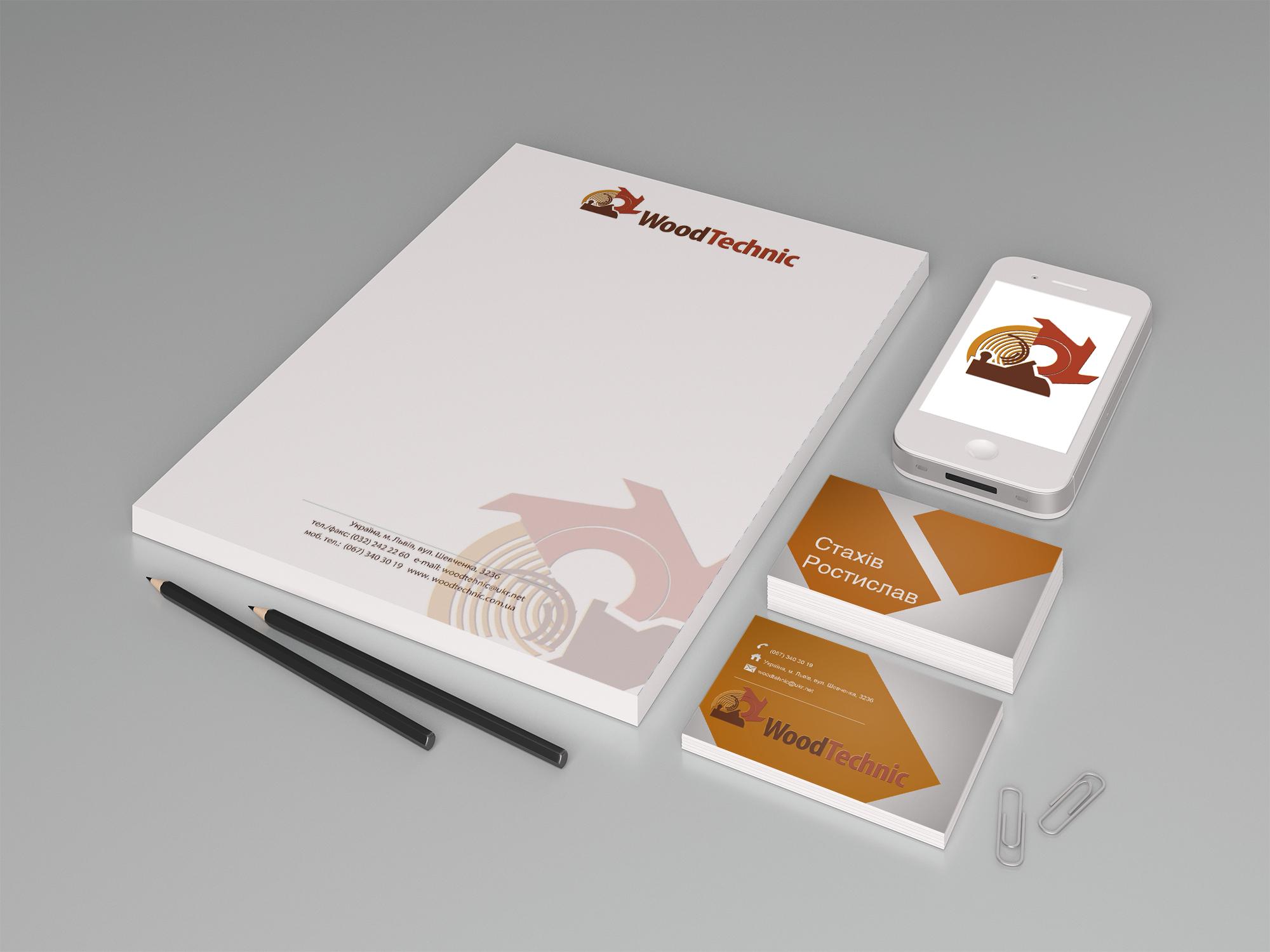 Брендбук для компанії Woodtechnik