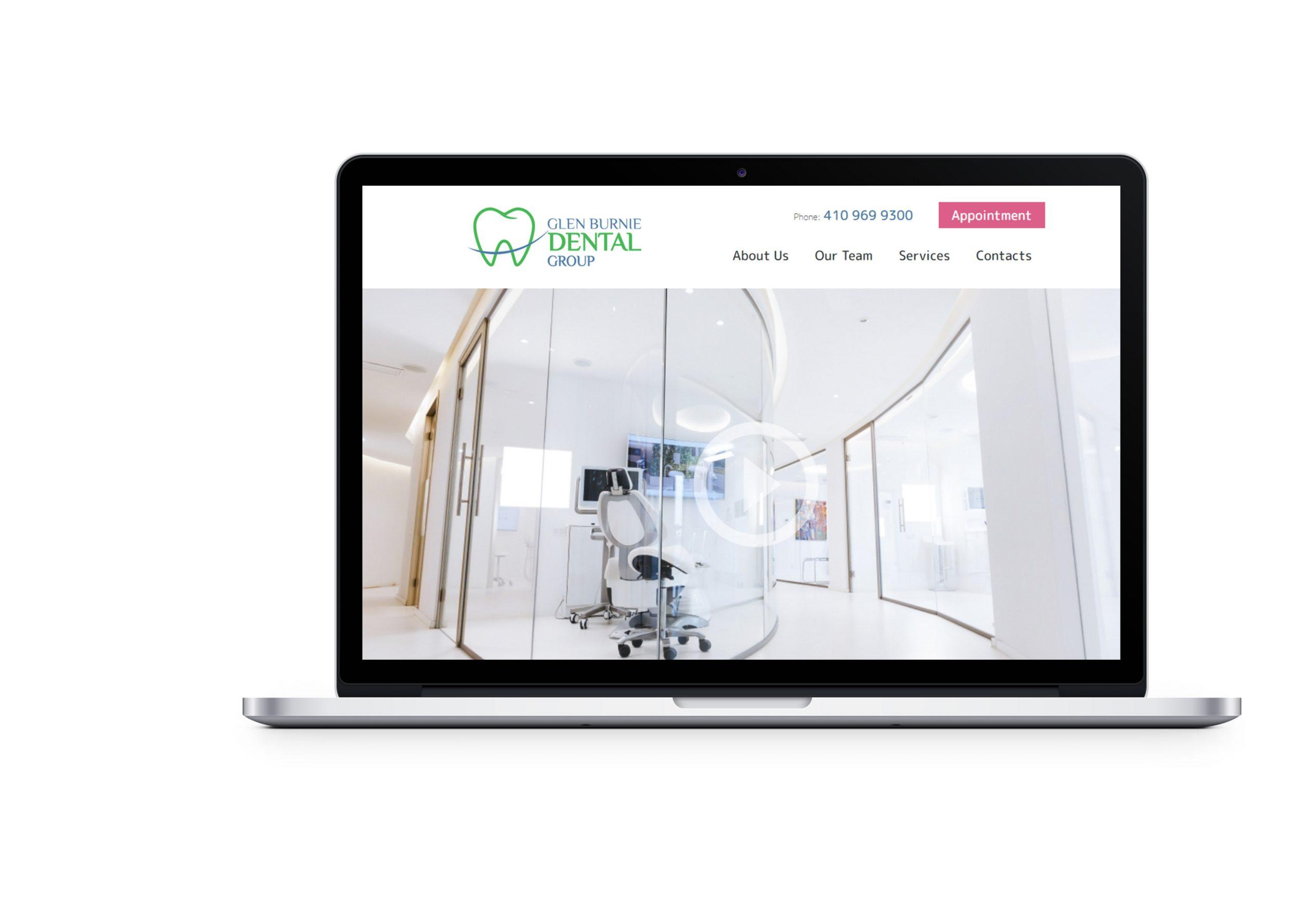 Редизайн сайту Glen Burnie Dental Group