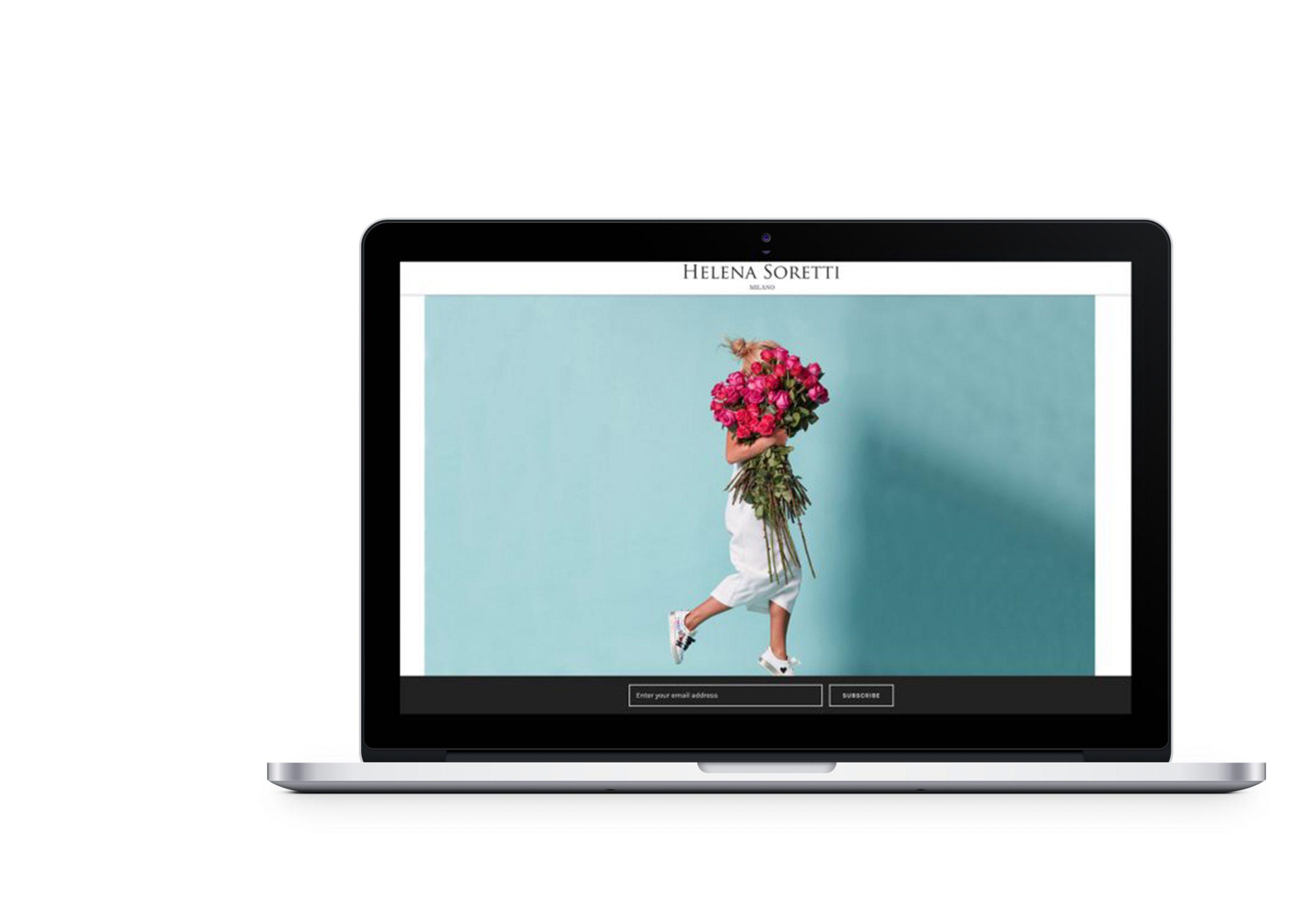 Вебсайт для Helena Soretti