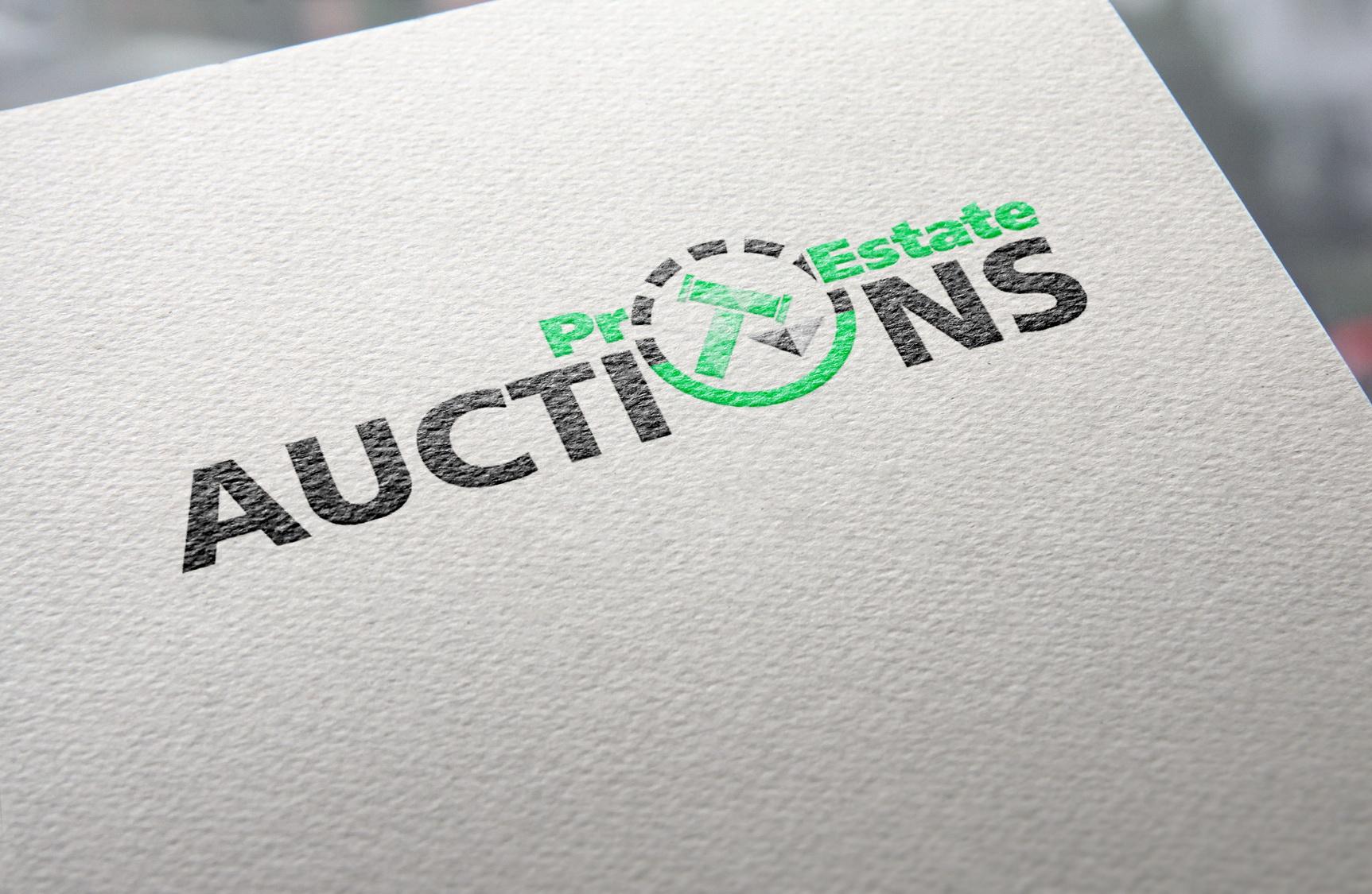 Логотип для Pro Estate Auction